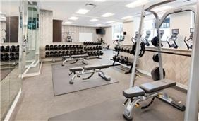 Marriott Indy Place Courtyard Fitness Center