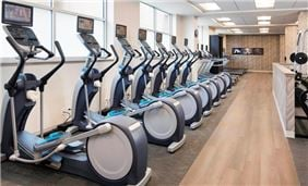 Marriott Indy Place Springhill Suites Fitness Center